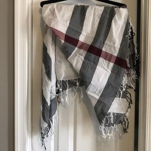 Accessories - Burberry cotton scarf